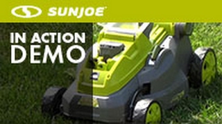 iON16LM - Sun Joe iON 40-Volt Cordless 16-Inch Lawn Mower w/ Brushless Motor - Live Demo