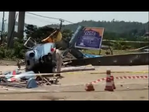 KNKT Selidiki Penyebab Jatuhnya Helikopter di Morowali