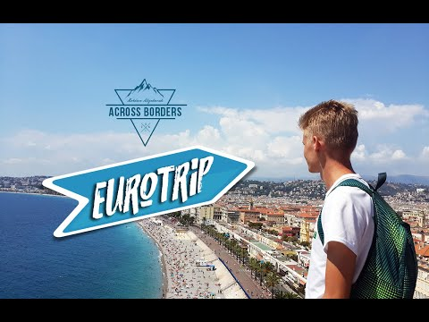 Eurotrip (Budapest - Milan - Monaco - Barcelona - Nice)
