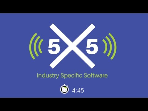 Industry Specific Software - 5x5 with Paul