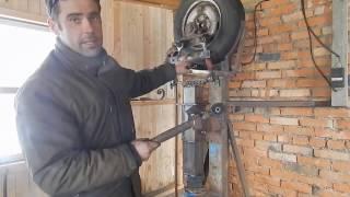 Cамодельный кузнечный молот видео обзор