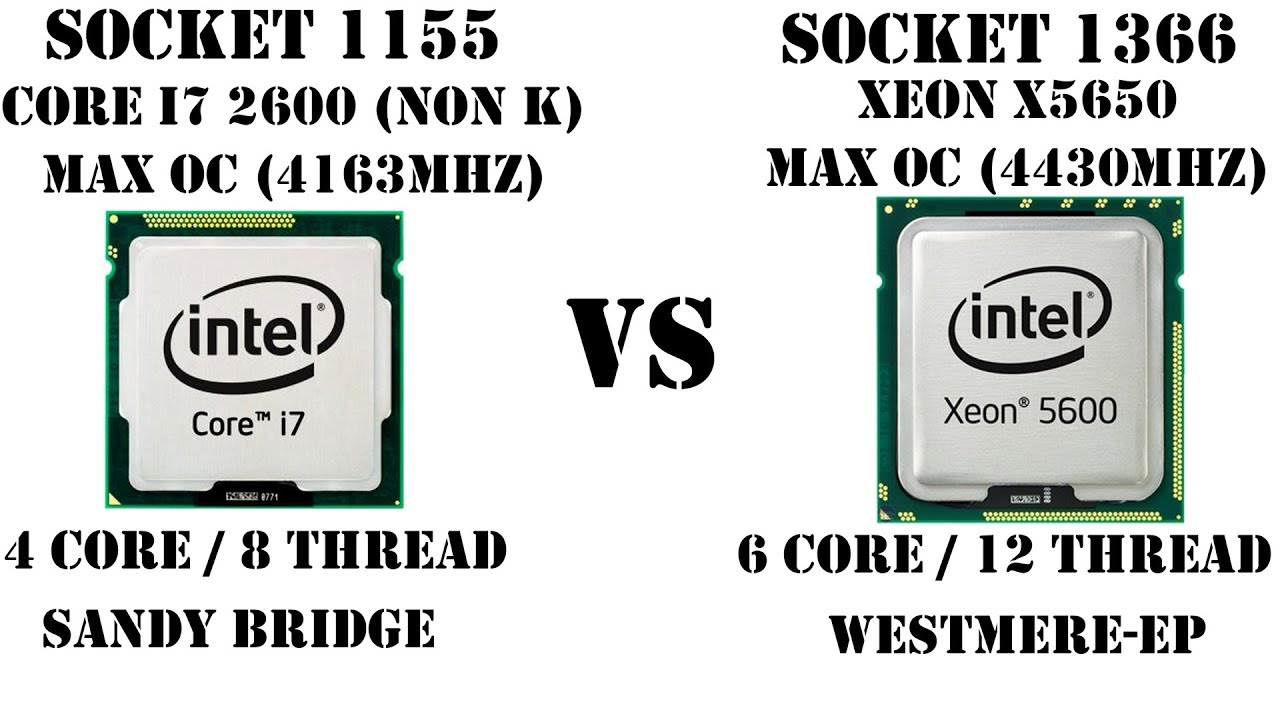 Короли производительности своего времени. i7 2600 (OC) vs X5650 (OC). Как они в 2018?