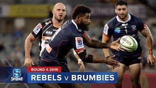 Rebels v Brumbies | Super Rugby 2019 Rd 4 Highlights