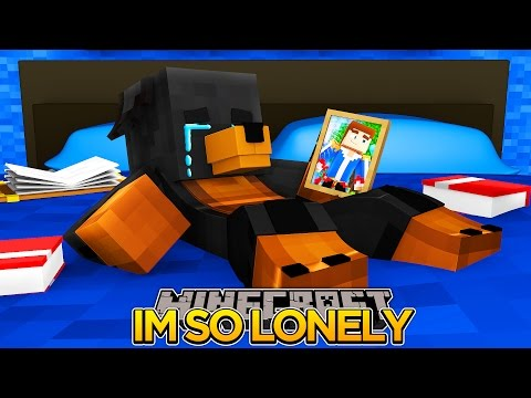 DONUT IS SO LONELY AND SAD!!!! Minecraft - Donut the Dog Adventures -