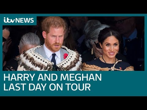 Duke and Duchess of Sussex on final day of their first overseas tour | ITV News