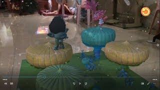 DreamWorks Trolls Holiday AR Playing AR Games with new iOS 11