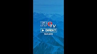 FpÖ-tv Direkt Vom 15.01.2019: Reformtempo Wird 2019 Fortgesetzt!