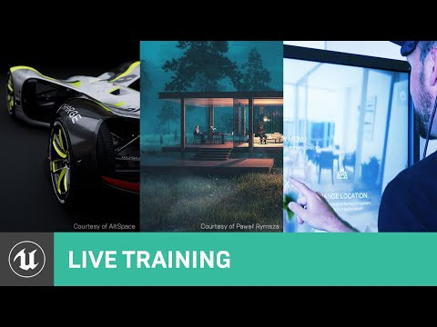 Exploring the Demand for UE and Real-time 3D Skills | Unreal Educator Livestream