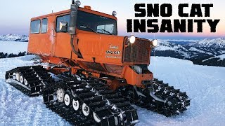 What's More Awesome Than a Jeep? A Tucker Sno-Cat.