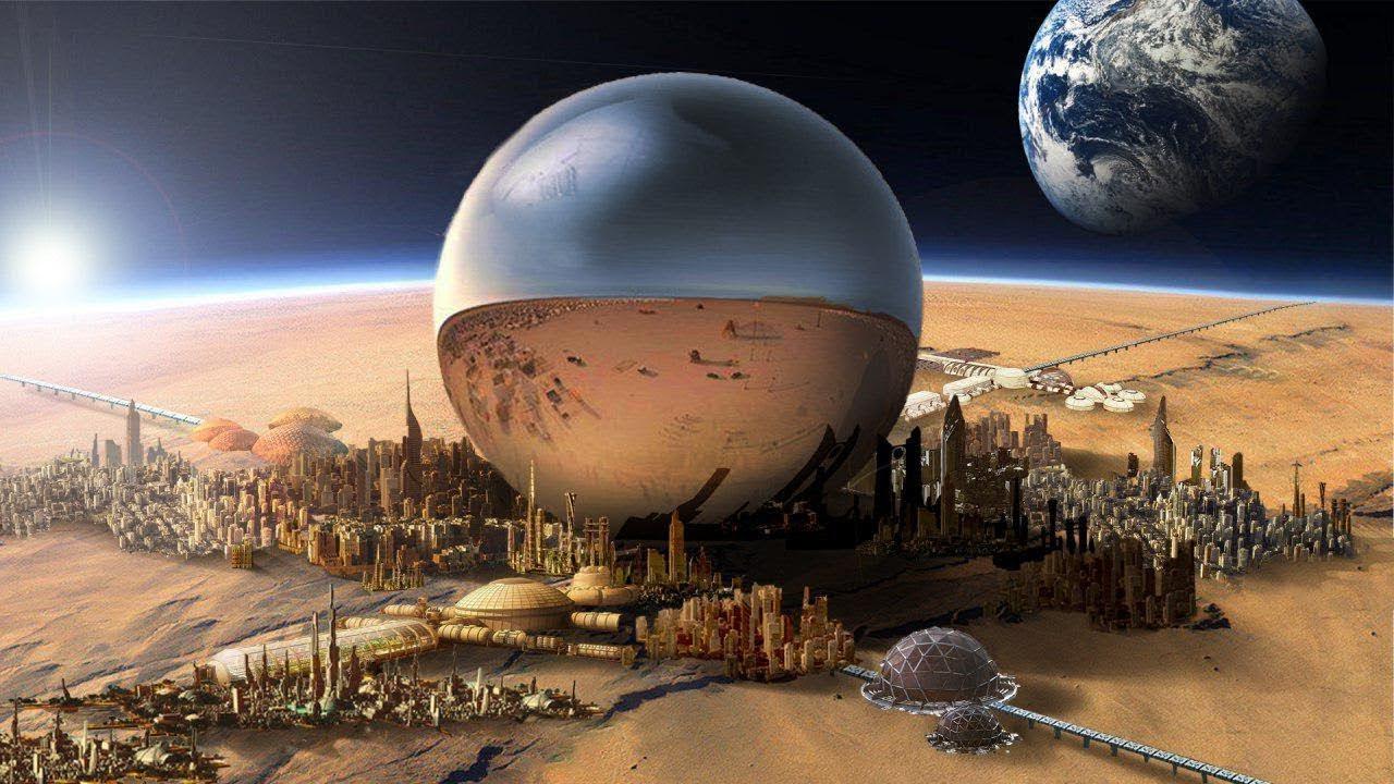 الحياة على المريخ !!
