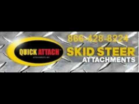 Quick Attach Solideal Skid Steer Over the Tire Track Demo