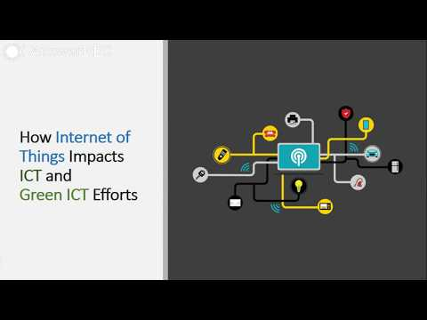 How Internet of Things Impacts ICT and Green ICT Efforts
