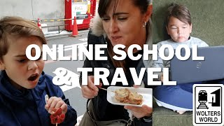 Online School & Travel - Advice on Traveling While Your Kids Learn Online