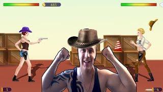 СИМУЛЯТОР КОВБОЯ | Western Cowboy Gun Fight | Обзор,Первый взгляд