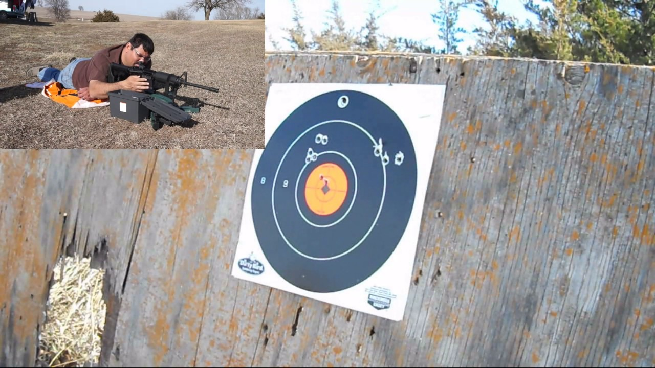 Zeroing the budget-friendly Bear Creek Arsenal AR on a Caldwell Lead Sled  Solo!
