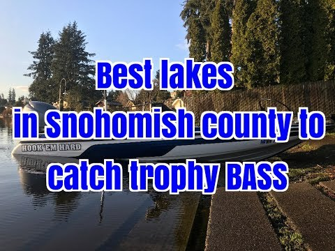 Top 5 lakes in Snohomish county to catch Trophy Bass