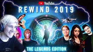 xQc Reacts to YouTube Rewind 2019 - The Legends Edition | #YouTubeRewind2019