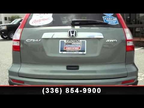 2011 HONDA CR V   Crown Honda Greensboro   Greensboro, NC 2