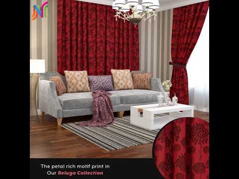 Gorgeous Jacquard Curtains for your living room