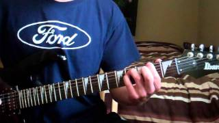 How To Play - FIVE MAGICS by MEGADETH - With TABS