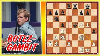 Auch Großmeister können BOTEZ-GAMBIT || Wesley So vs. Vladislav Artemiev || Chessable Masters 2021