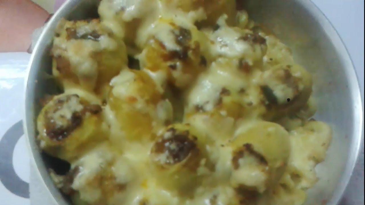 طريقة عمل البطاطس المحشية باللحمة المفرومة وصفات طبخ باللحمة المفرومة وصفات رمضانية