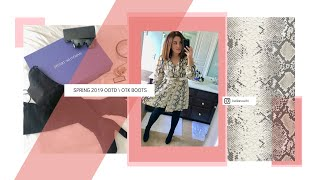 SPRING OOTD | OVER THE KNEE BOOTS