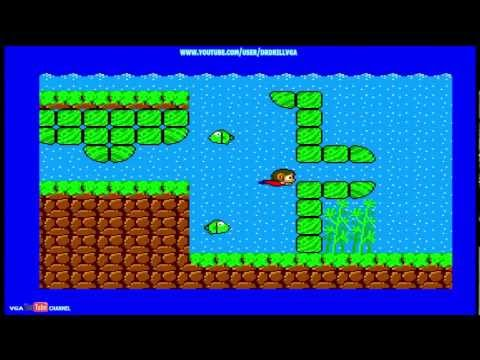 SEGA Vintage Collection Alex Kidd And Co Gameplay