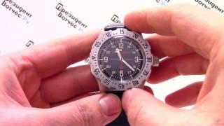 Часы Восток Командирские 350515 К-35 - Видео обзор от PresidentWatches.Ru