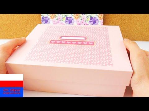 Pudełko Z Niespodziankami DIY | Prezent Dla Przyjaciółki | Zdjęcia I Liściki