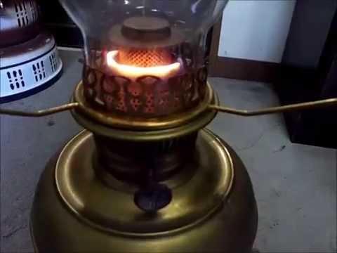 Rayo kerosene lamp - YouTube