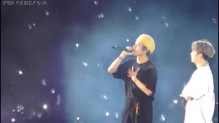 190602 BTS 방탄소년단 Young Forever + comment V 뷔 Focus (4K) @ SPEAK YOURSELF IN Wembley,UK