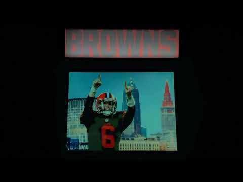 Cleveland Browns Custom Arcade1Up from Erik Rozsa