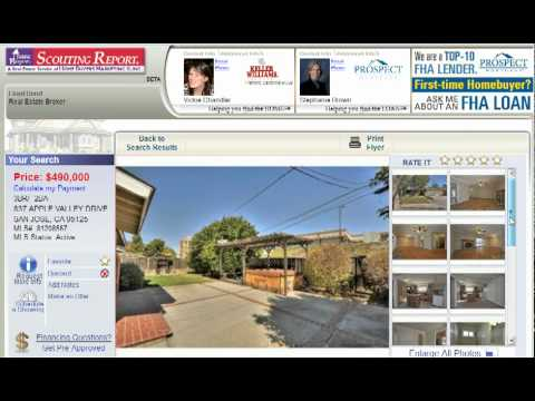 San Jose Homes For Sale in Willow glen - 837 Apple Valley Drive