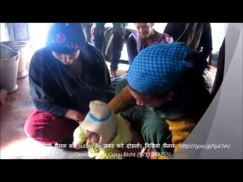 Annaprashana अन्नप्राशन कराना और कुमाऊँनी में
