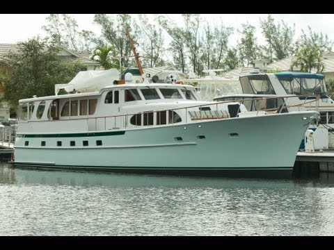 """75' Burger """"Diane"""" Yacht For Sale"""