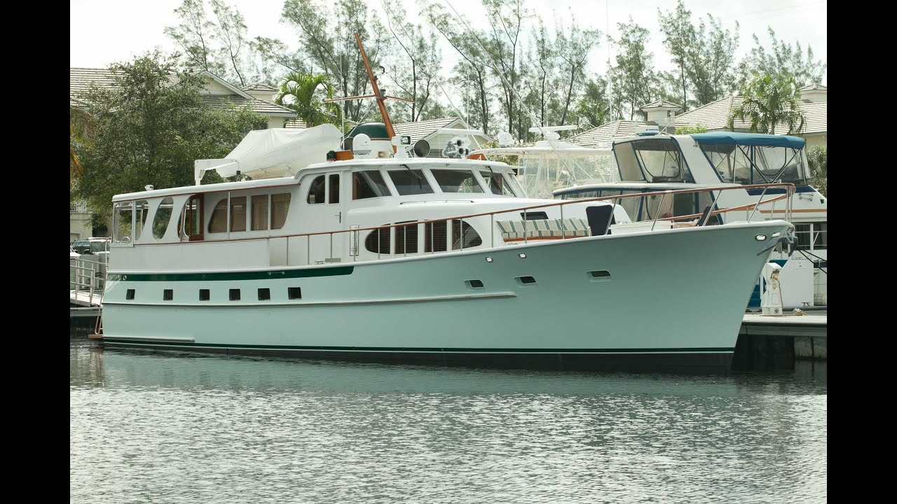 75 Burger Diane Yacht For Sale YouTube