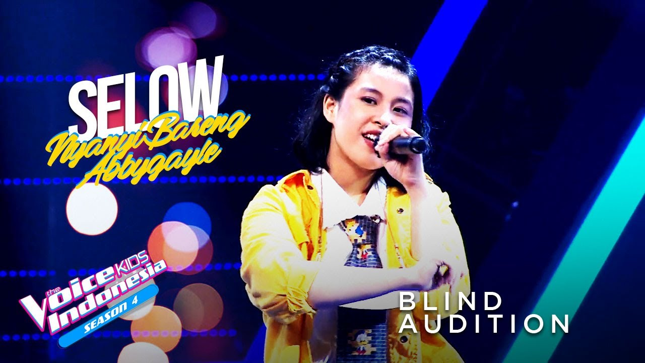 Download Abbygayle Callista - Selow | Blind Auditions | The Voice Kids Indonesia Season 4 GTV 2021