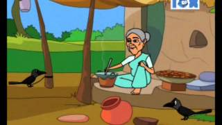 Crow and the fox - Grandma Tales - Animated story