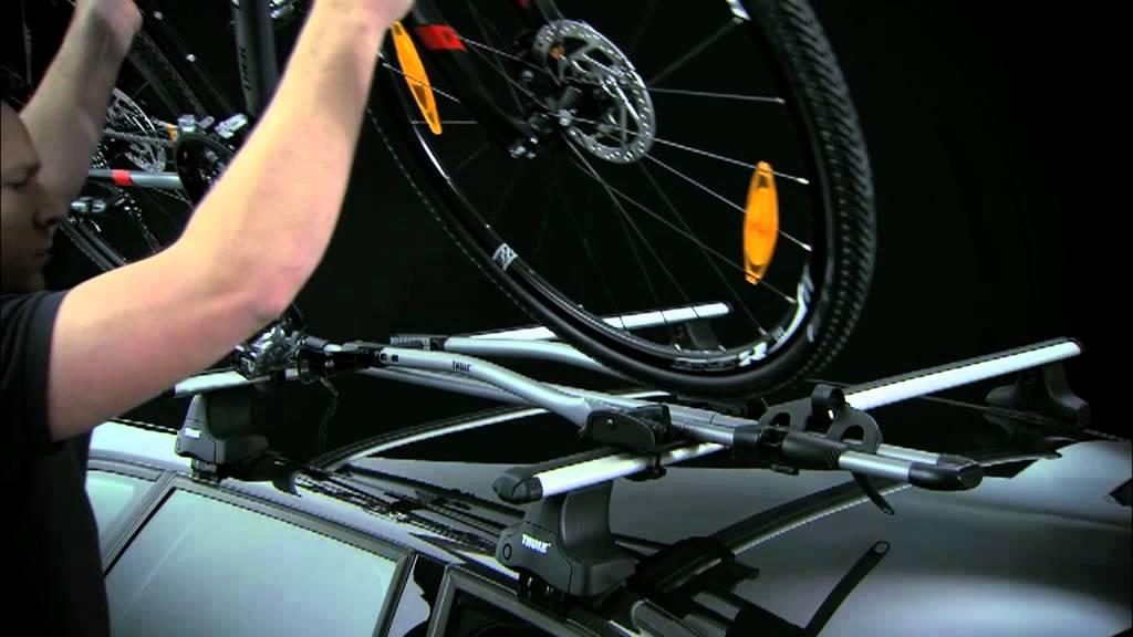 Verrassend Thule fietsendrager freeride 532 dakmontage montage handleiding XX-33