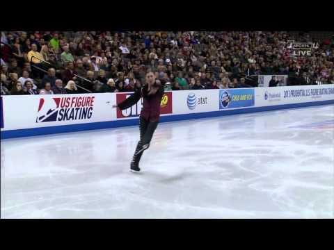 2013 US national Championships Jason Brown SP