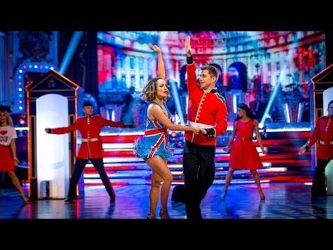 Caroline Flack & Pasha Kovalev Jive to 'Crocodile Rock' - Strictly Come Dancing: 2014 - BBC One