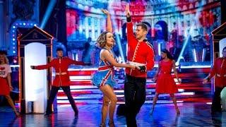 Caroline Flack & Pasha Kovalev Jive to