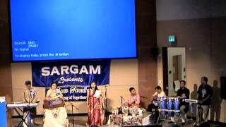 Tolo Chinno Bina Semanti Chakraborty sings at the 2014 Sargam Reunion organized by Mita Kundu