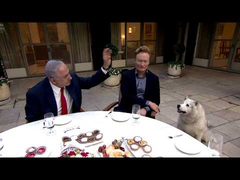 PM Netanyahu meets with Conan O'Brien