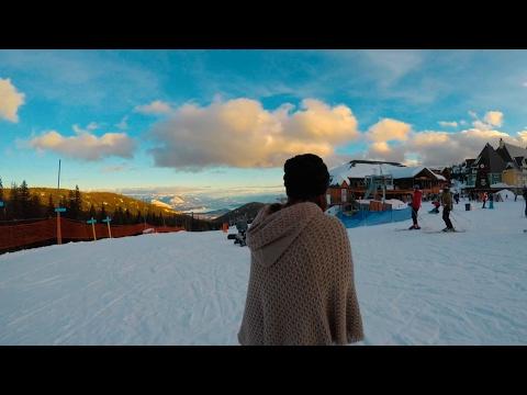 Snowboarding at Schweitzer in North Idaho 2017 (GoPro Hero5)
