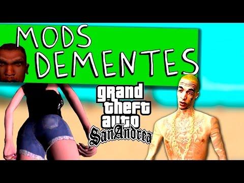 MC GUIME NO GTA - MODS DEMENTES GTA SAN ANDREAS 2