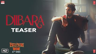 Dilbara Song Teaser Pati Patni Aur Woh Kartik Aaryan Bhumi P Ananya P Song Out Tomorrow
