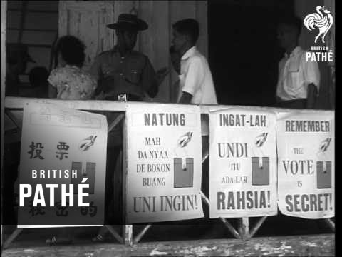Elections In Sarawak    (1963)