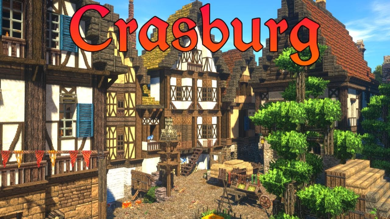 Medieval Town Houses | Crasburg | Episode 78 - Medieval Minecraft City